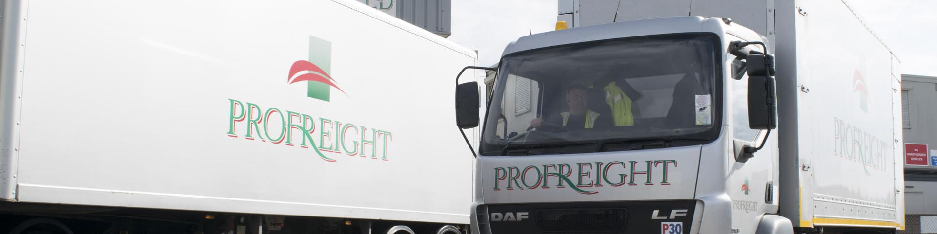 Profreight trucks