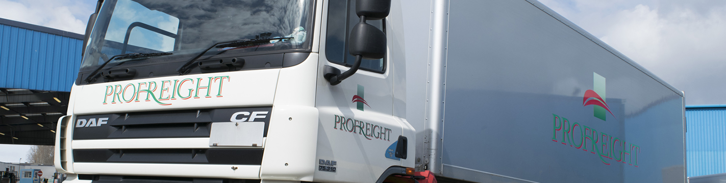 Profreight lorry